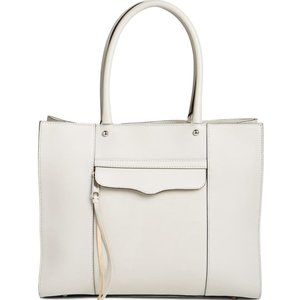 Rebecca Minkoff Grey 'Medium MAB' Leather Tote